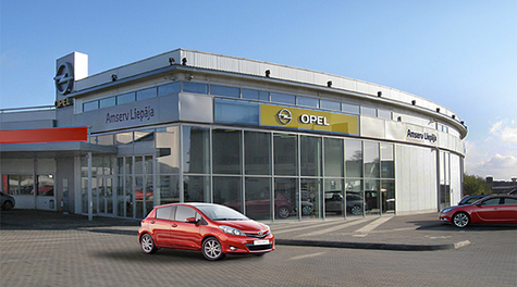 AMSERV LIEPĀJA<br/>Toyota un Opel serviss