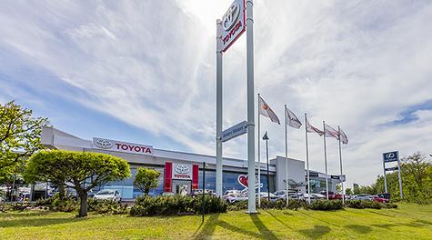 AMSERV MOTORS<br/>Toyota autocentrs